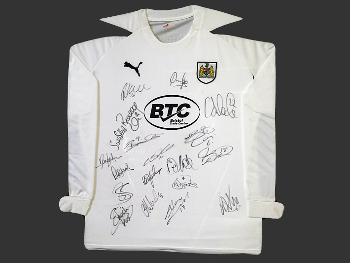 Signed Football Shirts