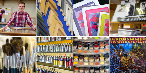 Art and Craft Supplies - Handmade Picture Framing Portishead Bristol